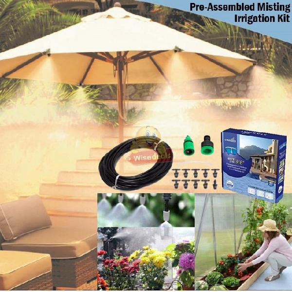 Pre-assembled Outdoor Misting / Irrigation System, Perfect