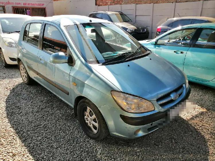 2007 hyundai getz in good driving condition for sale.