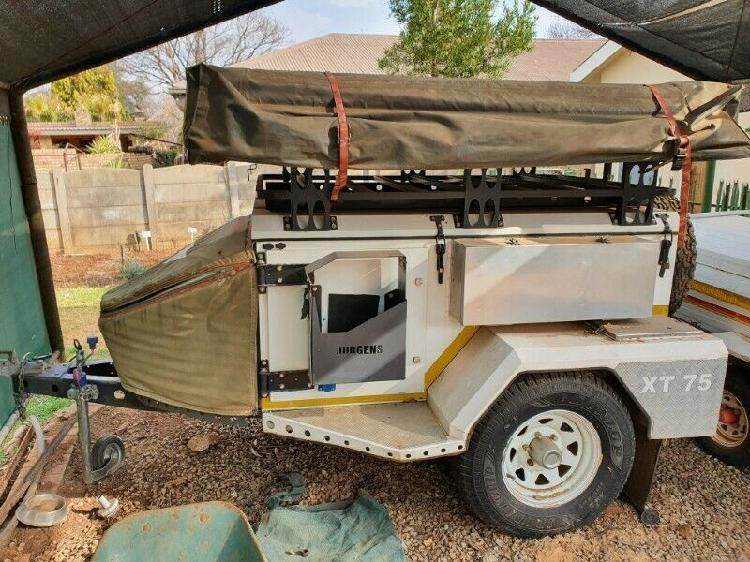 Jurgens xt75 camping trailer