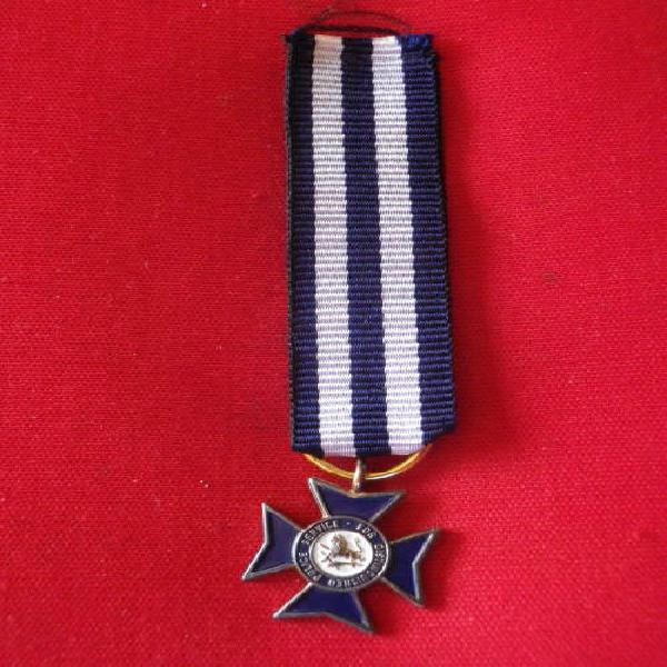 RHODESIA - POLICE CROSS FOR DISTINGUISHED SERVICE (PCD) -