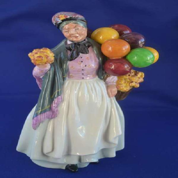 Royal doulton figurine biddy pennyfarthing hn1843