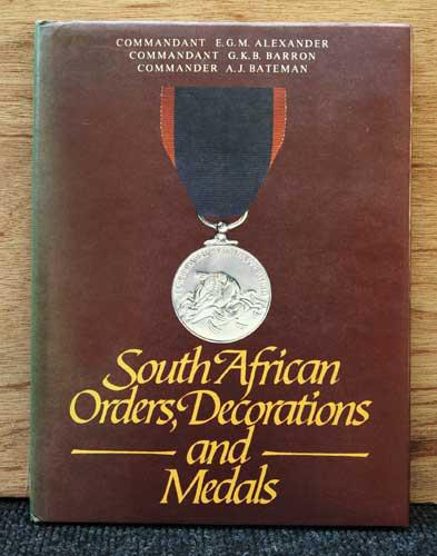 South african orders, decorations and medals -- e.