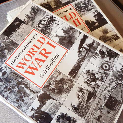 The pictorial history of world war 1 by g.d. sheffield and