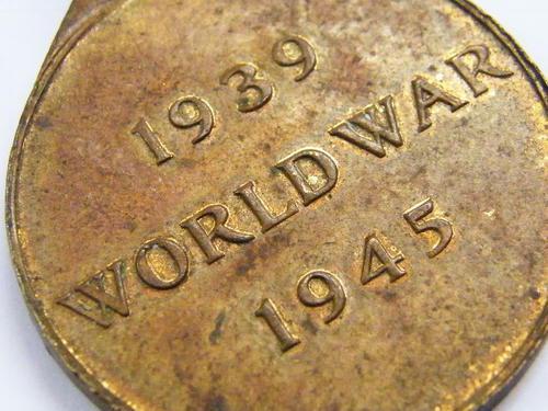 WW2 Rhodesia 1939 World War 1945 medal - as per photo