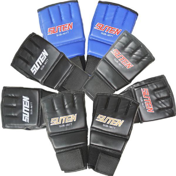 1 pair half finger boxing gloves training grappling martial