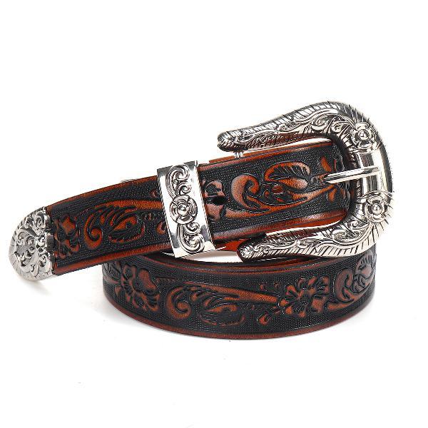 125x3.4cm fashion leather belt cosplay waist belt travel