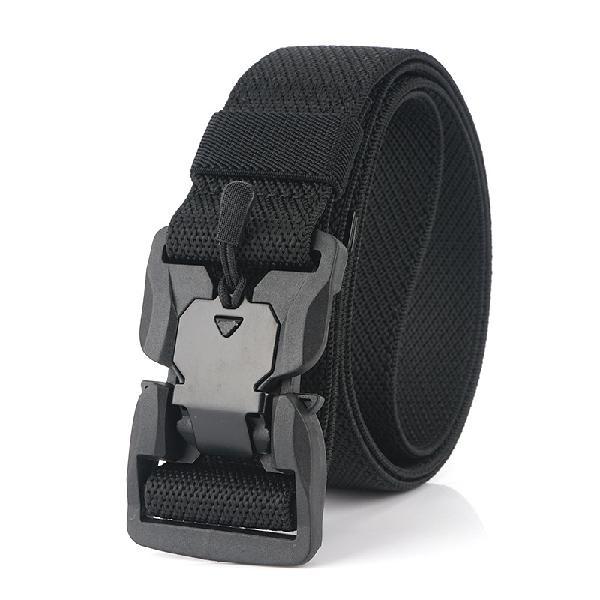 AWMN 125cm x 3.8cm Magnetic Buckle Punch Free Men Tactical