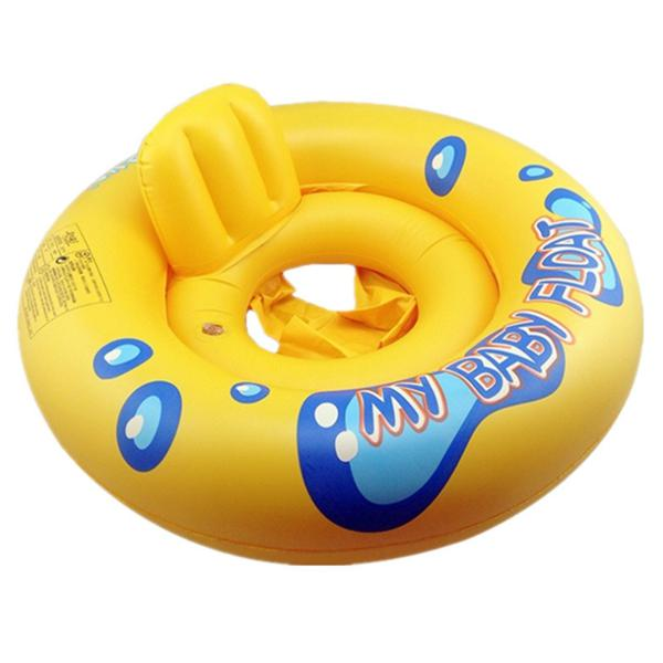 Inflatable baby infant kids seat aid swimming ring water