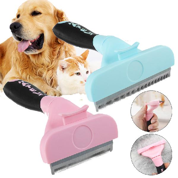 Pet hair cat grooming comb pet dog brush tool fur hair