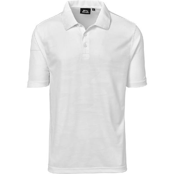 Slazenger Mens Volition Golf Shirt White Size 4XL