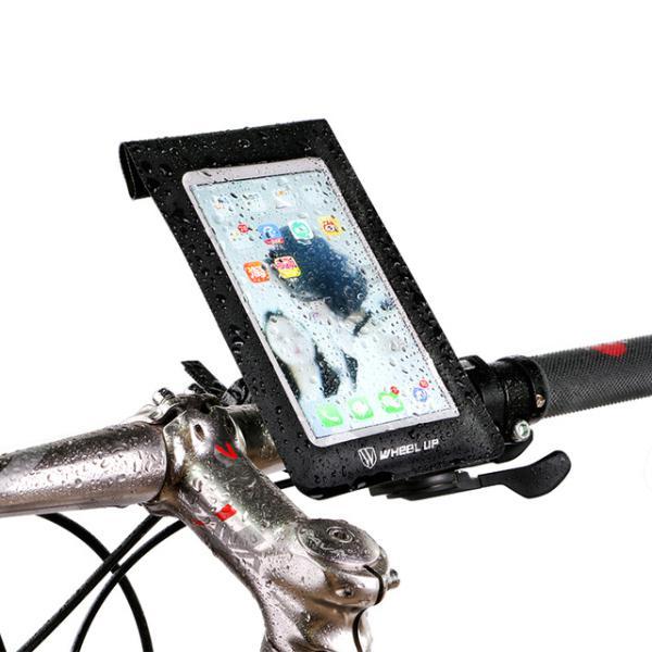 Wheel up bike waterproof handlebar touchscreen phone bag