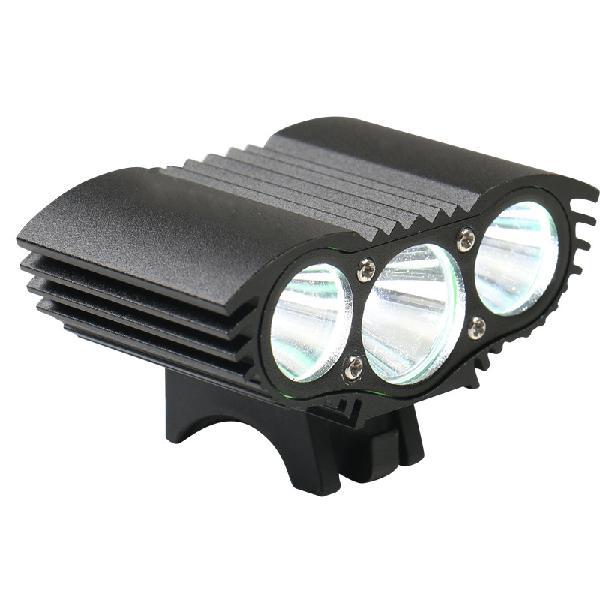 XANES 2700LM 3xT6 LED 4-Mode IPX6 Waterproof Bike Head Light