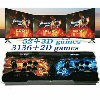 2020 new! pandora's box 3188 in 1 console,video retro arcade