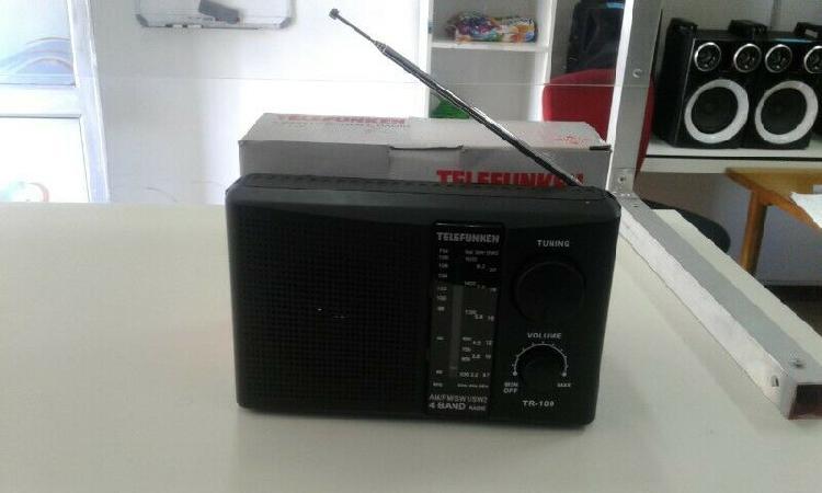 Bargain deal on telefunken 4 band portable radio