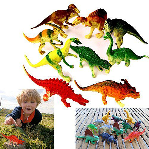 Dazzling toys large assorted dinosaurs 4-5 larger size