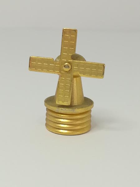 Miniature windmill brass (for printers tray/dollhouse)