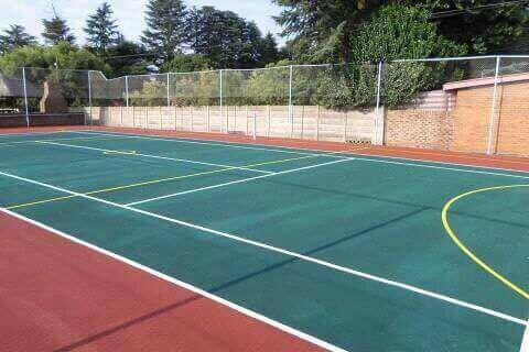 Tennis court repair call-0837649248