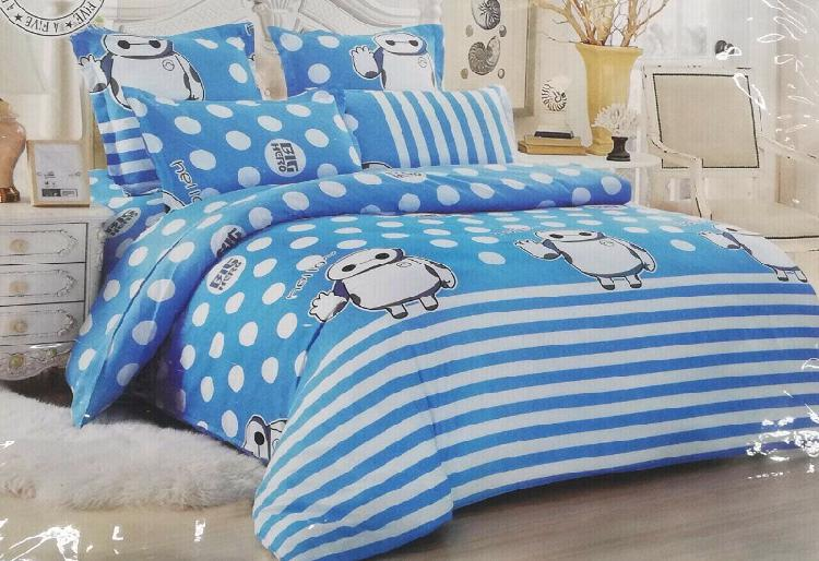 Big hero 6 piece double bed set