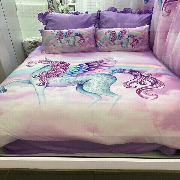 Unicorn combo single bed
