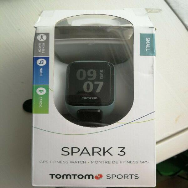 Tomtom spark 3 cardio + music gps fitness watch