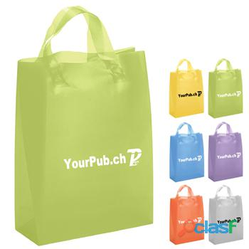 Buy custom plastic bags to popularize brand name