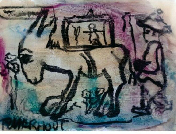 Frans claerhout donkeys