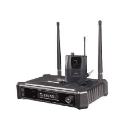 Hybrid u-sf b headset wireless microphone system