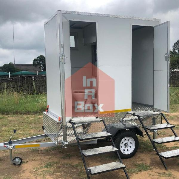 Mobile vip toilet business