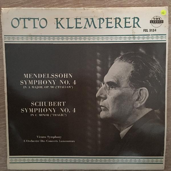 Otto klemperer - mendelssohn, symphony no. 4 in a major