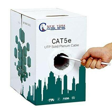 Network cables. cat 5, 5e cat in bulky. r100 for 10