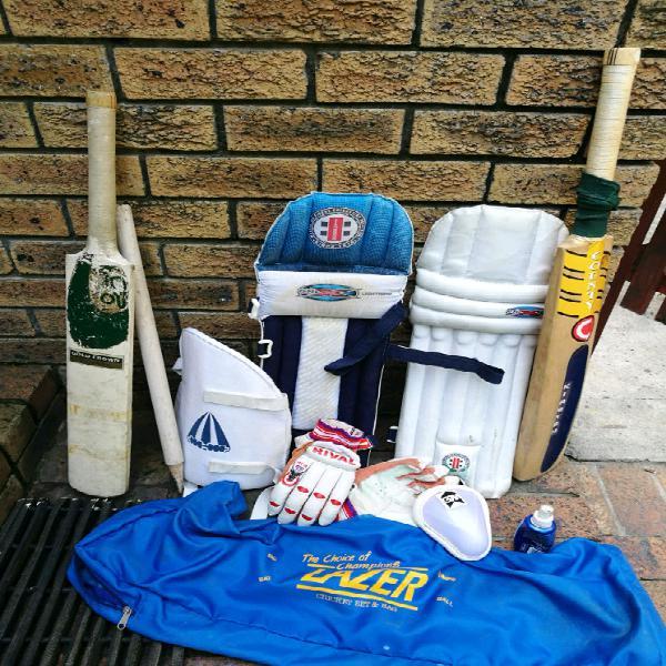 Cricket set kirsten, kookaburra, gray-nicolls