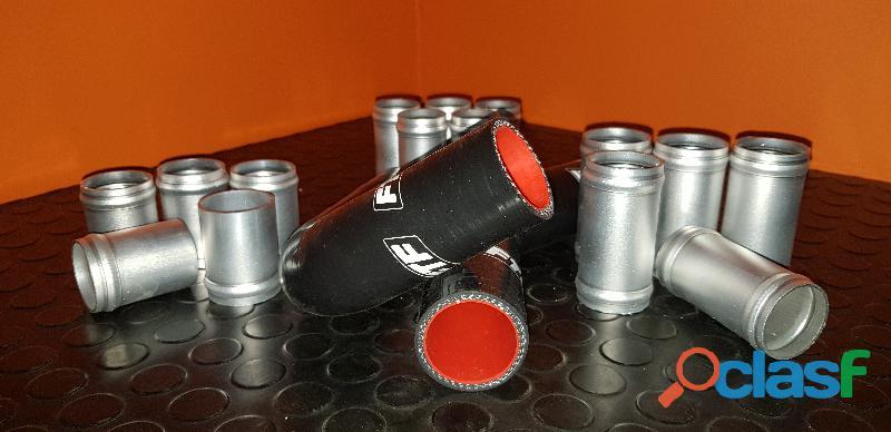 Radiator Hose and Aluminium Connectors 1