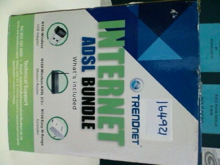 Bargain deal on trendnet internet adsl bundle