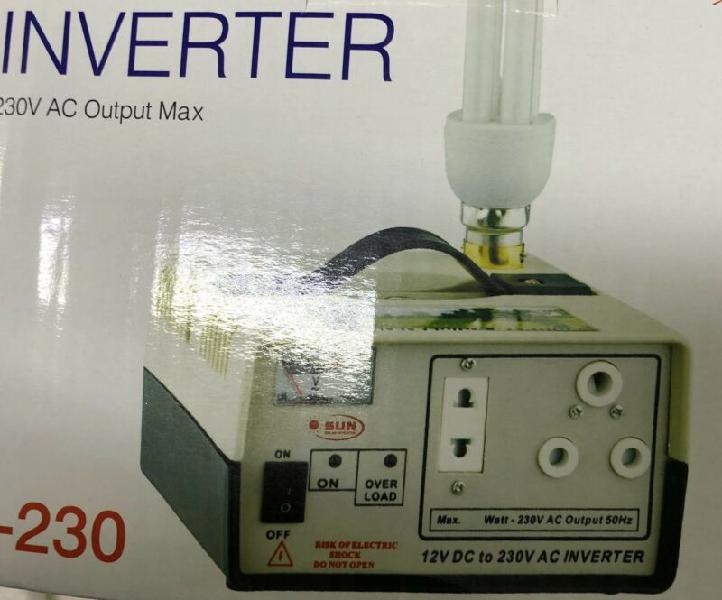 Inverter 12 v dc to 230 v ac inverter