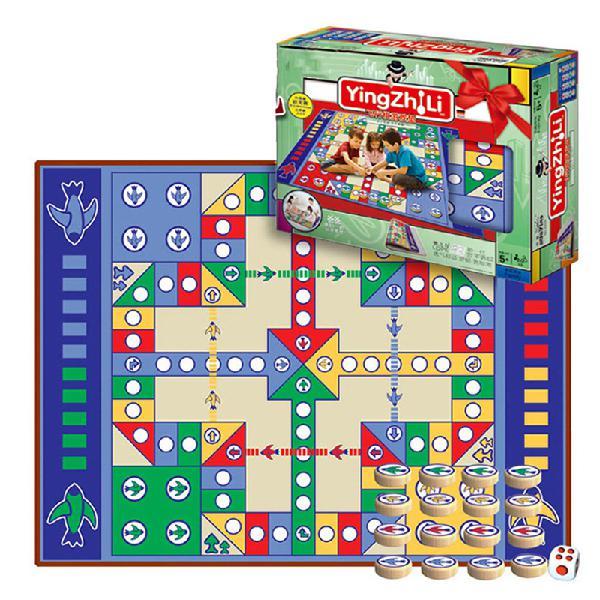 180x120cm flight chess carpet home family games crawl pad