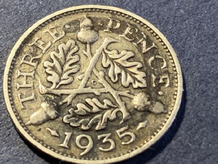 1935 3 Pence (UK)
