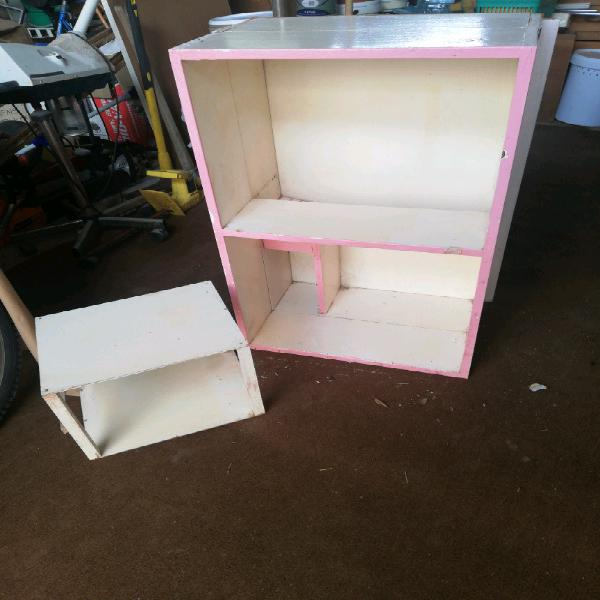 Doll House for Sale with Doll Garage