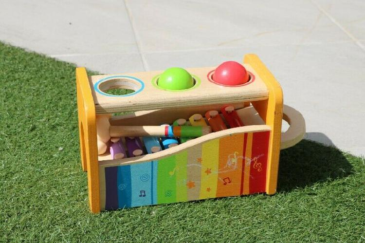 Hape pound and tap bench for sale