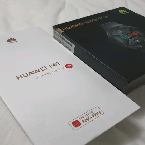 Huawei P40 + Huawei GT Watch 2e
