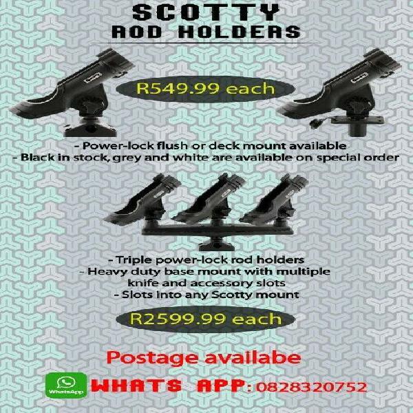 Brand new Scotty powerlocks rod holders