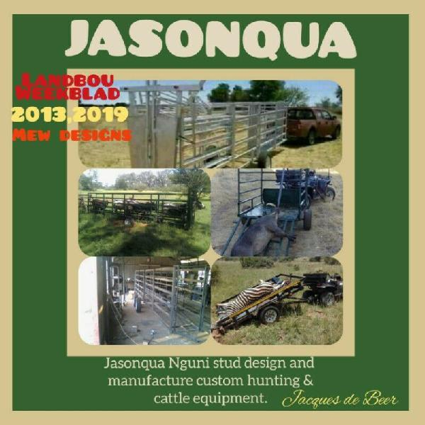 Cattle and hunting equipment