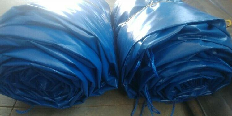 Heavy duty (700gsm) pvc chicken house and piggery curtains