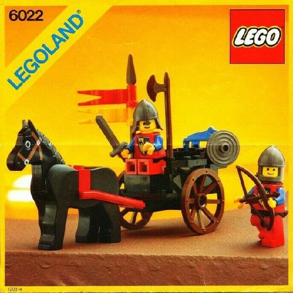 Horse Cart Lego Castle (Retired)