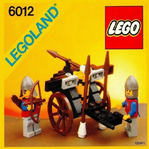 Siege Cart Lego Castle (Retired)