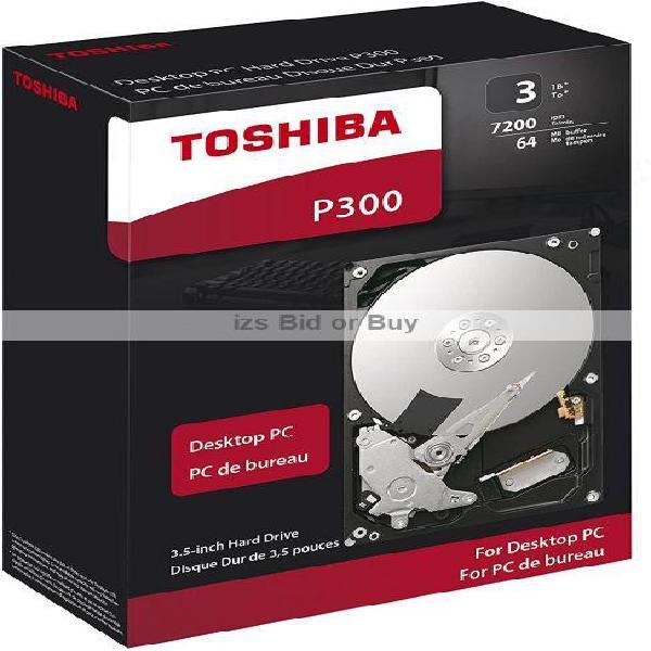 Toshiba P300 3TB 3.5 Desktop PC Hard Drive ***WOW***