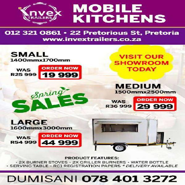 Mobile trailers for sale