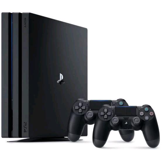 Ps4 1tb with 2 controllers and 8 games.