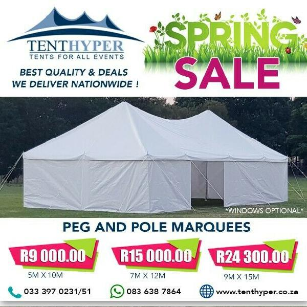 Tent hyper- spring deals
