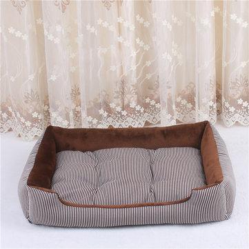 4 colors crystal velvet pet sofa bed dog cat sleeping bed