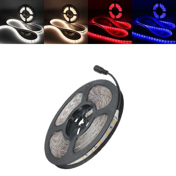 5m 30w led strip flexible light 300 smd 5630 white/warm